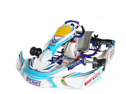 Châssis Top-Kart Blue Eagle Cadet FFSA