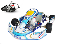 Ensemble complet Top-Kart Bullet Evo / Rotax Nationale