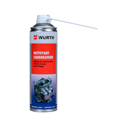Nettoyant carburateur Würth (500ml)